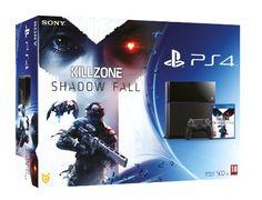 NEW! Sony Playstation 4 PS4 500GB Console Black UK Killzone Shadow Fall Bundle Miglior prodotto Videogiochi Console, Bundle e Accessor. Conf...
