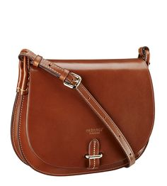 f67033bcf080 Kim Delaney, Osprey London, Leather Crossbody, Chester, Cross Body, Saddle  Bags, Hand Stitching, Emboss, Contrast