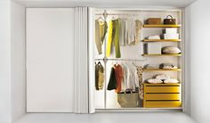 TREND:  8 elegant wardrobes All of these wardrobes are so roomy you are guaranteed to have plenty of space for all your fashion collection. Couture inside and out!  Lago, wardrobe  Et Voilà @lagofurniture