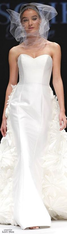 Badgley Mischka Bridal Spring 2015