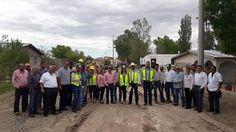 El día de ayer el alcalde Enrique Lujan Álvarez, y el diputado federal Alex Lebaron González, arrancaron dos pavimentaciones en la cabecera...