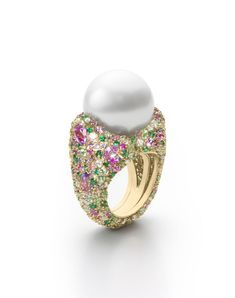 Mikimoto Four Seasons Spring ring