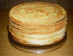 Блины тонкие (налистники). Ингредиенты молоко теплое 1 л мука 2 сткн (250 мл) Яйца 4 шт. соль (можно добавить еще) 3/4 ч.л. сахар 1 ст.л. (кто любит сладкие, то больше) масло рафинированное 80 мл рассчитано 30 шт