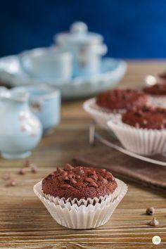 Muffin al Cioccolato senza Glutine e senza Lattosio | Aryblue Gluten Free Cakes, Gluten Free Diet, Lactose Free, Sin Gluten, Dairy Free Brownies, Patisserie Sans Gluten, Donut Bar, Egg Free, Finger Foods