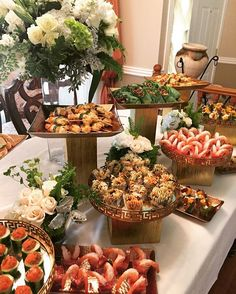 Wedding Catering For Our Lovely Groom Peggy Silver Buffet Entertaining