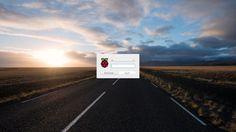 Der Login-Dialog nutzt ebenfalls das eingestellte Wallpaper (Bild: Raspberry Pi Foundation)