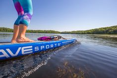 RAVE Sports Blue Touring Stand Up Paddle Board. Product #02450