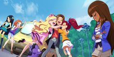Best Pictures Ever, Cool Pictures, Les Lolirock, Dessin Animé Lolirock, Girly Drawings, Cartoon Movies, Best Friends Forever, Magical Girl, Disney Frozen