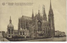 Ostend-St Petrus & Paulus Cathedral-1934