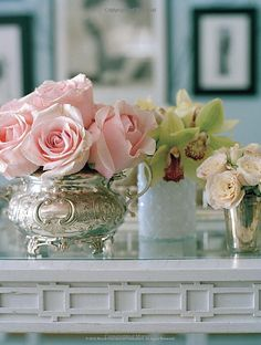 Blossoms in Silver - a classic. Pick up some blooms to add to your swanky stash - #Louisville Costco