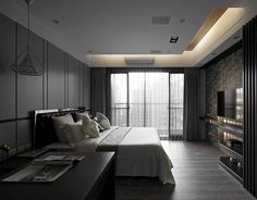 Luxury Bedroom Design, Bedroom Bed Design, Home Decor Bedroom, Modern Bedroom, Small Balcony Decor, Plafond Design, Budget Bedroom, Luxurious Bedrooms, Interior Design Living Room