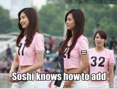 11 +21 =32  SNSD Girls Generation So Nyuh Shi Dae SoShi