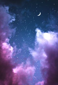 New painting sky night galaxies ideas Moon And Stars Wallpaper, Night Sky Wallpaper, Star Wallpaper, Scenery Wallpaper, Tumblr Wallpaper, Galaxy Wallpaper, Screen Wallpaper, Cool Wallpaper, Wallpaper Backgrounds