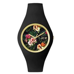 ICE.FL.COL.U.S.15 - ICE-WATCH Flower  COLONIAL - Gold - 100 Metres Water Resistant - Free Delivery #ICEWATCHES