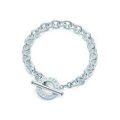 Toggle bracelet in sterling silver. | Tiffany & Co. $250