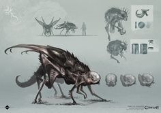 Love this new Mi-go design, really digging Chaosium's new approach to their monsters.