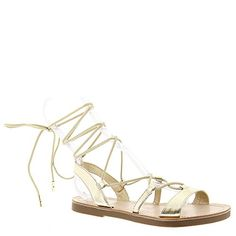 Madden Girl Womens Lotussss Gladiator Sandal Platinum 7 M US *** Want to know more, click on the image.