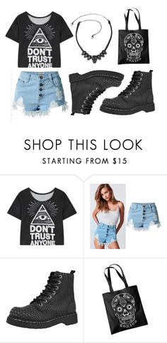 """Don't Trust Anyone"" by rebelsmarket-0 on Polyvore featuring T.U.K."