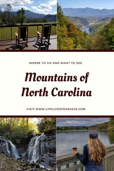 North Carolina Mountains: Where to Go & What to Do. Travel to North Carolina mountains. Asheville North Carolina, North Carolina Beaches, North Carolina Mountains, Asheville Nc, Us Travel Destinations, Places To Travel, Places To Visit, Mountain Vacations, Family Vacations