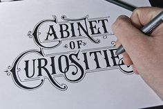 Hand Lettering by Tobias Saul