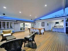 Outdoor living design with deck from a real Australian home - Outdoor Living photo 431608