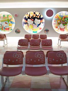 Hello Kitty Lounge Taoyuan International Airport, Taiwan