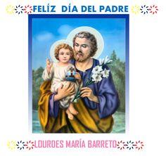 FELÍZ  DÍA DEL PADRE, Y QUE SAN JOSE PROTEJA A TODOS LOS PADRES EN SU DÍA.DOMINGO 15 DE JUNIO 2014. ♤LOURDES MARÍA BARRETO♤