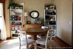 Our Multi-Purpose Dining Room: Dining Room and Play Room in One!