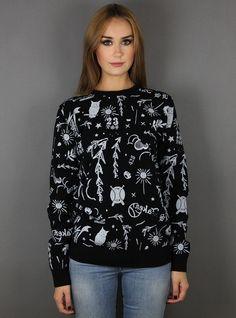 #newin Soulland VISUAL H Knit Sweater
