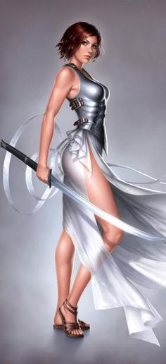 Not sure about the negligee and armor but its pretty