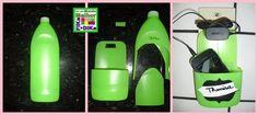 Reciclando embalagem plástica