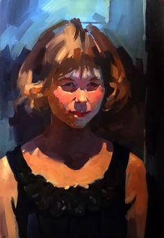Портрет девочки-подростка, Anastasia Yaroshevich