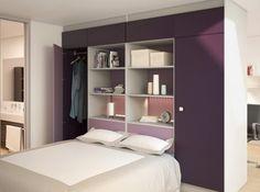D co chambre armoire ou dressing vous de choisir - Tete de lit dressing ...