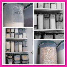 Tupperware Your cupboard could look like this too! Call me on 0425722946 and I will come and modularise your pantry! Kitchen Cupboards, Kitchen Pantry, Kitchen Storage, Food Storage, Tupperware Organizing, Tupperware Recipes, Pantry Organisation, Organization Hacks, Pantry Ideas