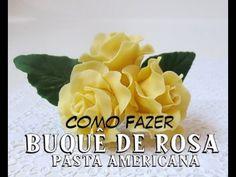 Como Fazer Pasta P/ Flores Caseira (Receita c/ Apenas 4 Ingredientes) - YouTube