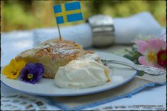 The Kitchen Lioness: Swedish Apple Cake to celebrate the Royal Wedding in Sweden