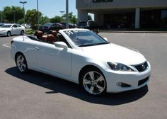 2011 Lexus IS 250C, 40,652 miles, $37,900.