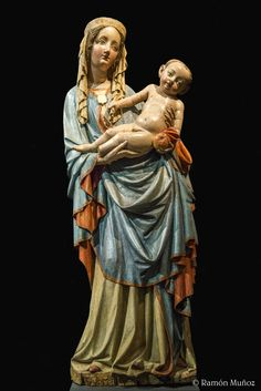 Virgen de Nesvacily. 1420 1430. Galería Nacional de Praga
