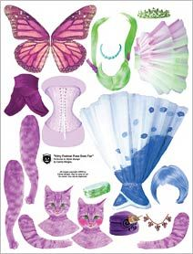 Kitty Does Fae Collage Sheet Auf alphastamps.com http://www.pinterest.com/pearlswithplaid/paper-dolls-for-real/