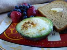 Around the Table Book: The Egg in the Avocado