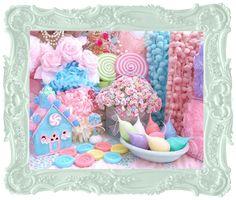 Candylights, Pom Pom Trims, Millinery, German Glass Glitter, Beads, Ribbons, Trims, Lace, Fabrics, Cath Kidston & Embellishments Sugar Pink ...