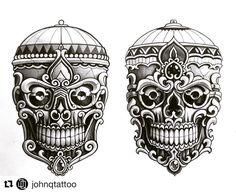Kapala by @johnqtattoo #japanesetattooart #japanesetattoos #newschooljapanese #japaesetattoo #traditionaljapanese #irezumi #irezumicollective #tebori #wabori #japanesetattoodesign #neojapanese #tattooartist #tattooart#artwork #art #prints #ink #inked #tattooed #tattoist #instaart #instagood #tatted #instatattoo #bodyart #tatts #tats #amazingink #tattedup #inkedup