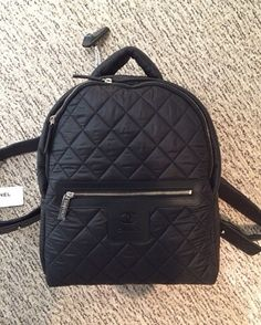 Chanel Black Coco Cocoon Backpack