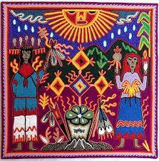 12 Mexican Huichol Marakame / Shaman Ritual yarn by Aramara Shaman Ritual, I Shop, My Etsy Shop, Yarn Painting, Mexican, Handmade, Image, Art, Jewelry