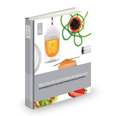Create your own experiments in molecular gastronomy with this kit, including full-color cookbook, tools and special ingredients.