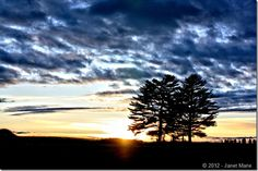 #photography #northern #maine #canon #rebel #sunset #trees