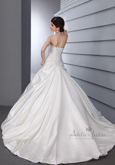 Wedding dress Genoa by Atelier Ivoire