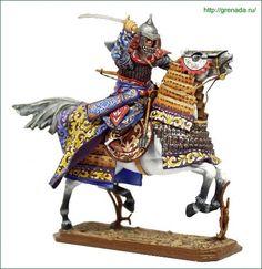 Mongol Heavy Warrior, 14th cent.
