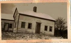 Antique photograph old country barn/home Selling on ebay