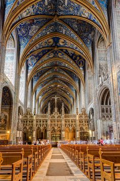 Ste. Cecile Cathedral . Albi ~ #France, #Visit http://www.thefrenchpropertyplace.com